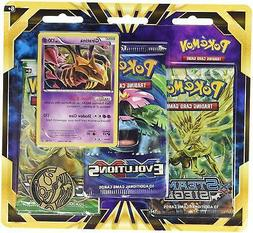 Pokemon 3 Booster Blister Pack -XY184 Giratina Fates Collide