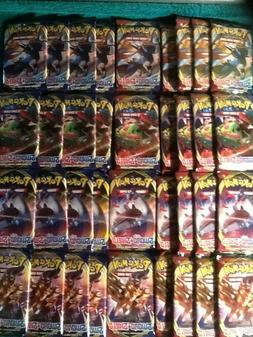 36x pokemon booster packs sword and shield