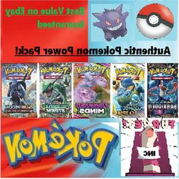 Authentic Pokemon Power Pack - 5 Booster Packs - 1:2 boxes G