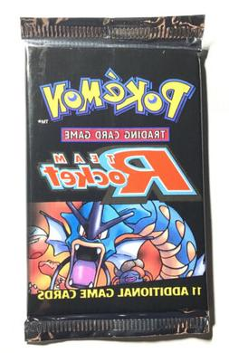 Factory Sealed TEAM ROCKET Unlimited Pokemon Card Booster Pa