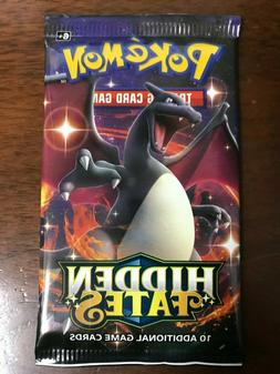 Pokemon Hidden Fates Booster Pack Factory Sealed Shiny Chari