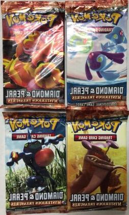 Pokémon Mysterious Treasures Booster Pack LOT Of 4, All 4 A