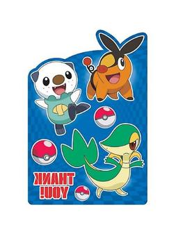 Pokemon Thank You Notes  Birthday Party Supplies Note Cards