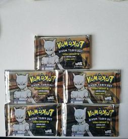 Pokemon The First Movie TOPPS Trading Card Packs