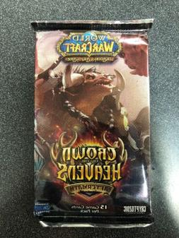 World Of Warcraft Crown Of The Heavens 24 Booster Pack LOT F