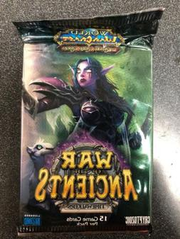World Of Warcraft War Of The Ancients 5 Booster Pack LOT For