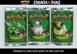WOTC Pokemon Jungle Booster Pack UNWEIGHED