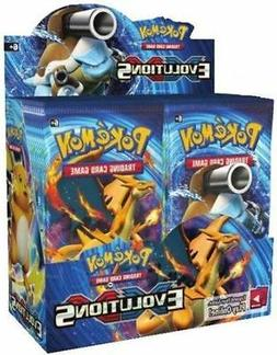 Pokemon XY Evolutions Booster New Sealed TCG Card Game - 4x